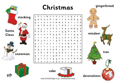 Christmas Fun - Year One Christmas Activities